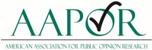 AAPOR Logo White